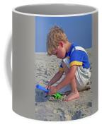 Childhood Beach Play Coffee Mug