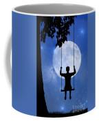 Childhood Dreams 2 The Swing Coffee Mug by John Edwards