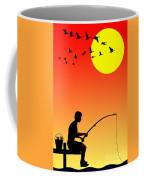 Childhood Dreams 3 Fishing Coffee Mug