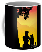 Childhood Dreams 4 Best Friends Coffee Mug by John Edwards