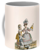 Children At Play, Engraved By Patas Coffee Mug