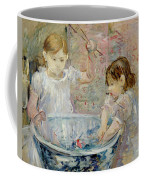 Children At The Basin Coffee Mug
