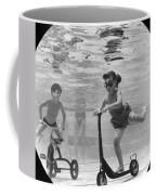 Children Playing Under Water Coffee Mug