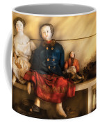 Children - Toys - Assorted Dolls Coffee Mug by Mike Savad