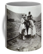 Children With Camera, C1900 Coffee Mug