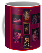 Children's Toys In Lights Poster Coffee Mug