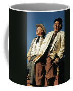 Chill Wills And Andy Devine Singing Atop A Stagecoach Old Tucson Arizona 1971 Coffee Mug