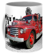 Chilliwack Fire- Mercury Firetruck Coffee Mug