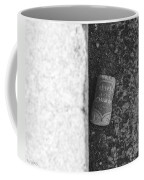 Chimay Wine Cork In Black And White Coffee Mug