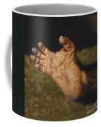 Chimpanzee Foot Coffee Mug