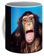 Chimpanzee Portrait Coffee Mug