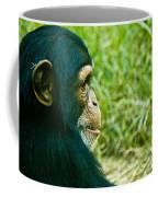 Chimpanzee Profile Coffee Mug