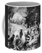 China Burma Road, 1944 Coffee Mug