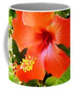 China Camp Hibiscus Coffee Mug