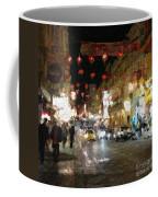 China Town At Night Coffee Mug