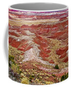 Chinde Point In Painted Desert In Petrified Forest National Park-arizona Coffee Mug