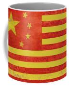 Chinese American Flag Coffee Mug