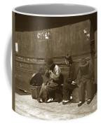 Chinese Cobbler San Francisco California Chinatown Circa 1900 Coffee Mug