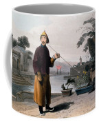 Chinese Gentleman, From A Picturesque Coffee Mug