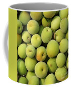 Chinese Green Plums Coffee Mug by Yali Shi