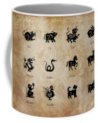 Chinese Zodiac Coffee Mug by Delphimages Photo Creations