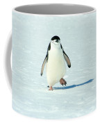 Chinstrap Penguin Running Coffee Mug