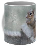 Chippy Christmas Card Coffee Mug