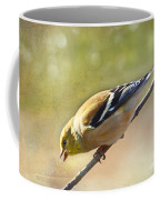 Chirping Gold Finch Coffee Mug