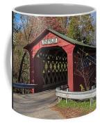 Chiselville Covered Bridge Coffee Mug by Edward Fielding