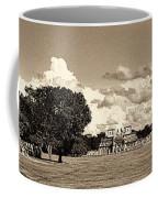 Chitzen Itza Panorama Sepia Coffee Mug
