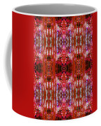 Chive Abstract Red Coffee Mug