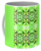 Chive Abstract Green Coffee Mug