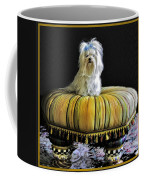 Chloe On Her Tuffet Coffee Mug
