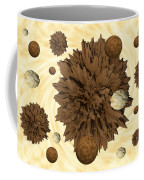 Chocolate Asteroids Coffee Mug