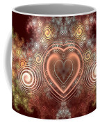 Chocolate Heart Coffee Mug