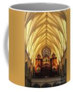 Choir Loft At Saint Josephs Cathedral Buffalo New York Coffee Mug