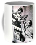 Chris And Hans On One Of Their Worldtravels  Coffee Mug