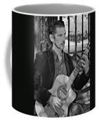 Chris Craig - New Orleans Musician Bw Coffee Mug