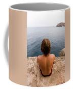 Chris Sharma Relaxing And Meditating Coffee Mug