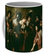 Christ And The Adulteress Coffee Mug
