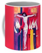 Christ And The Politicians Coffee Mug by Laila Shawa