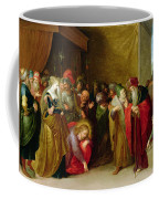 Christ And The Woman Taken In Adultery Coffee Mug