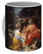 Christ Blessing The Little Children Coffee Mug