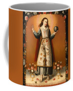 Christ Child With Passion Symbols Coffee Mug