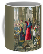 Christ Cleanses The Temple Coffee Mug