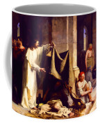 Christ Healing The Sick  Coffee Mug