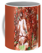 Christ In The Forest Coffee Mug