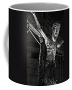 Christ Of Salardu - Bw Coffee Mug