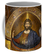 Christ Pantocrator Mosaic Coffee Mug by RicardMN Photography