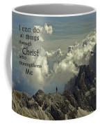 Christ Strengthens Me Coffee Mug